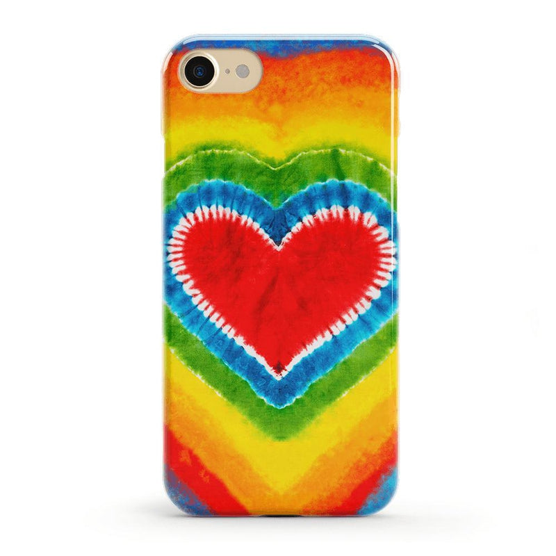 I Heart Tie Dye iPhone Case iPhone Case get.casely Classic iPhone 8
