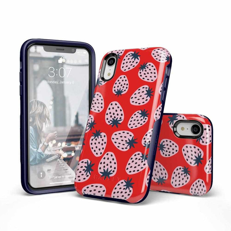 I'd Pick You | Red Strawberry Case iPhone Case get.casely