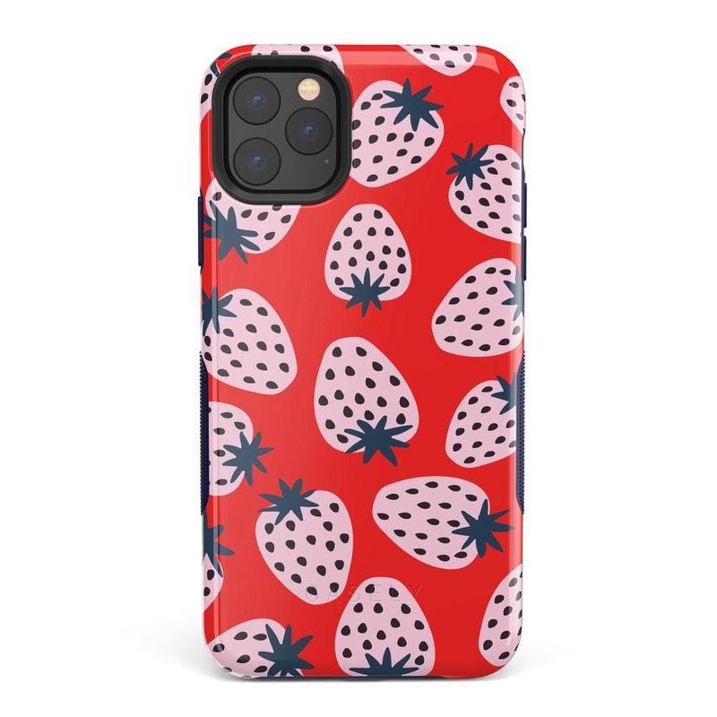 I'd Pick You | Red Strawberry Case iPhone Case get.casely Bold iPhone 11 Pro Max