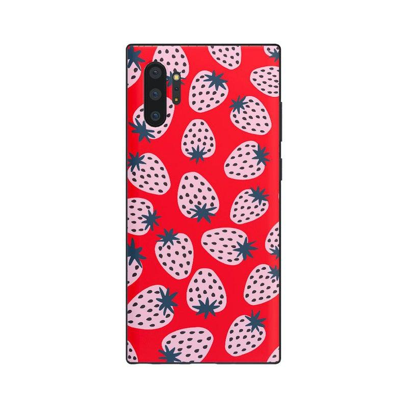 I'd Pick You | Red Strawberry Case iPhone Case get.casely Classic Galaxy Note 10 Plus