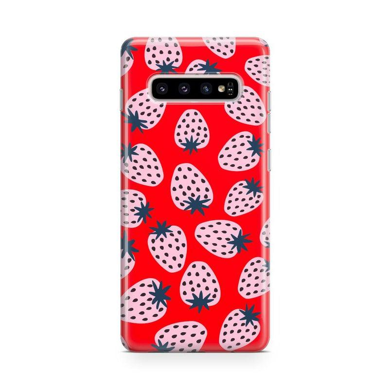 I'd Pick You | Red Strawberry Case iPhone Case get.casely Classic Galaxy S10
