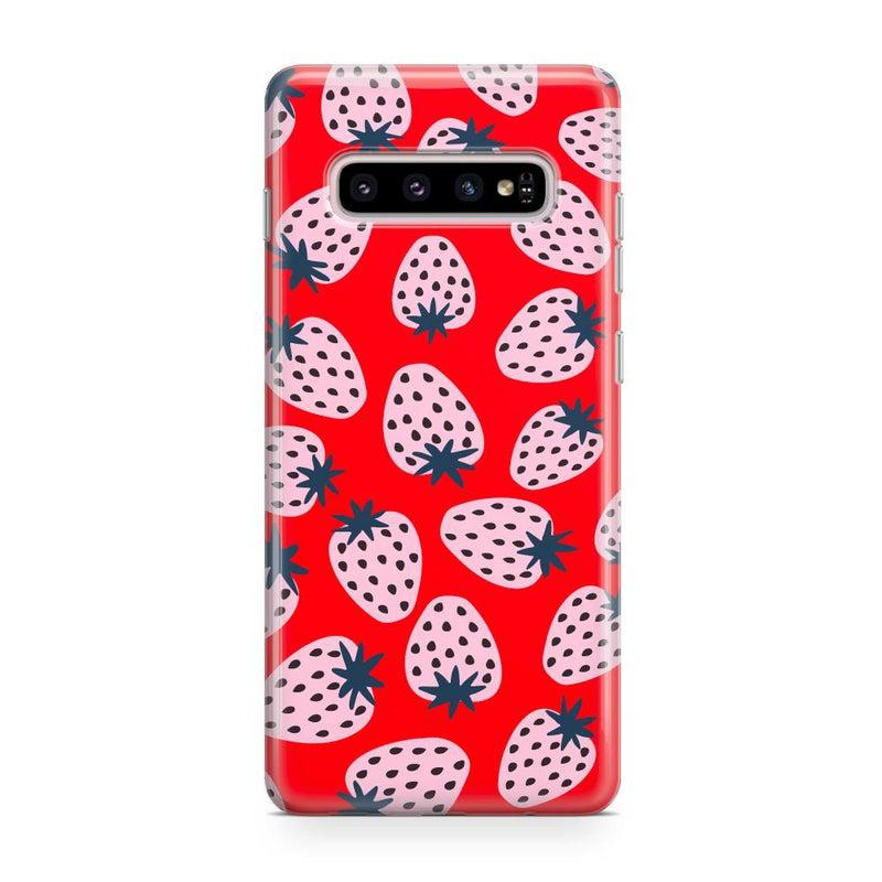 I'd Pick You | Red Strawberry Case iPhone Case get.casely Classic Galaxy S10 Plus