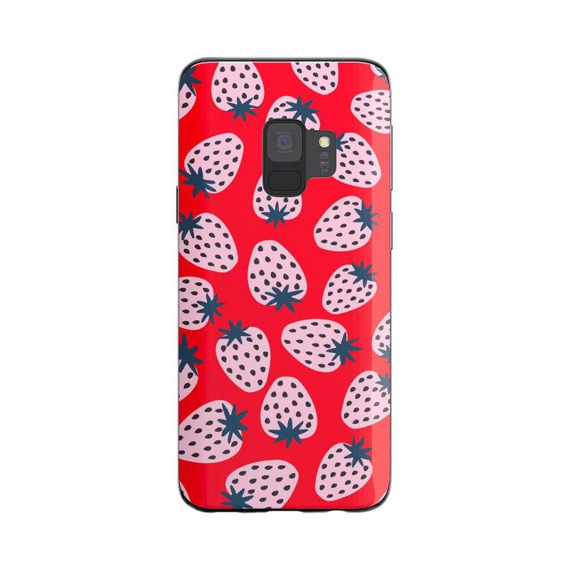 I'd Pick You | Red Strawberry Case iPhone Case get.casely Classic Galaxy S9