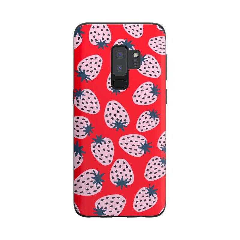 I'd Pick You | Red Strawberry Case iPhone Case get.casely Classic Galaxy S9 Plus