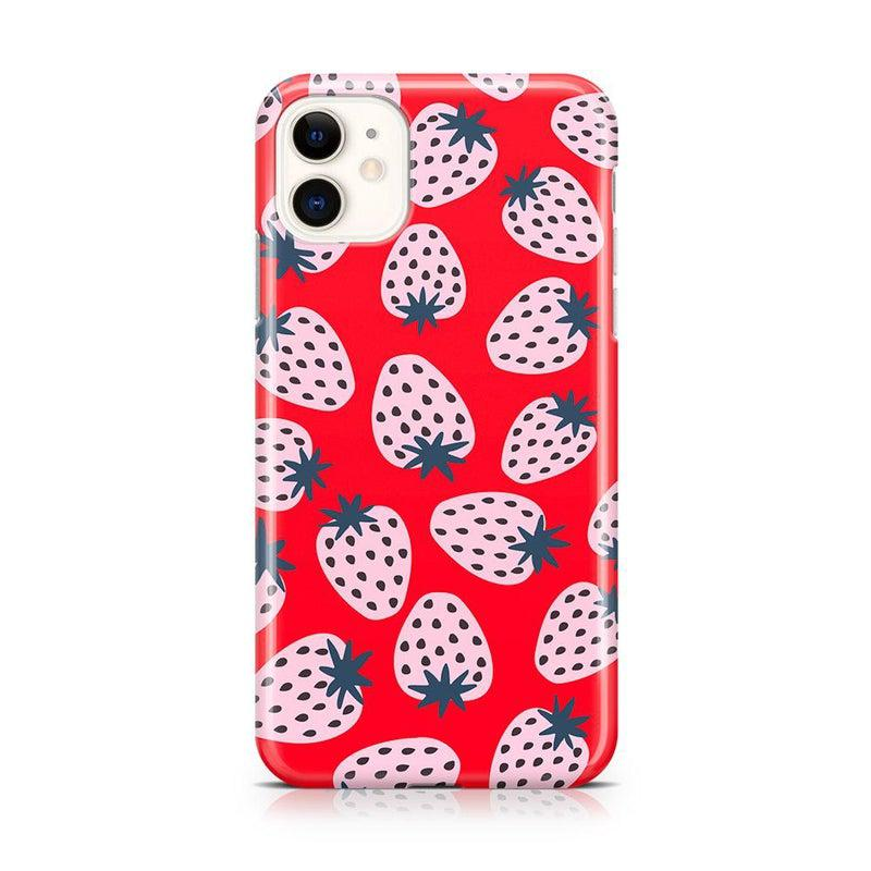 I'd Pick You | Red Strawberry Case iPhone Case get.casely Classic iPhone 11