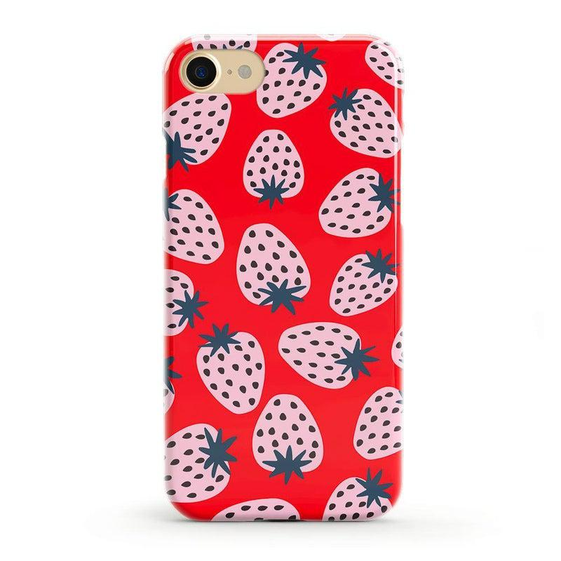 I'd Pick You | Red Strawberry Case iPhone Case get.casely Classic iPhone SE (2020)