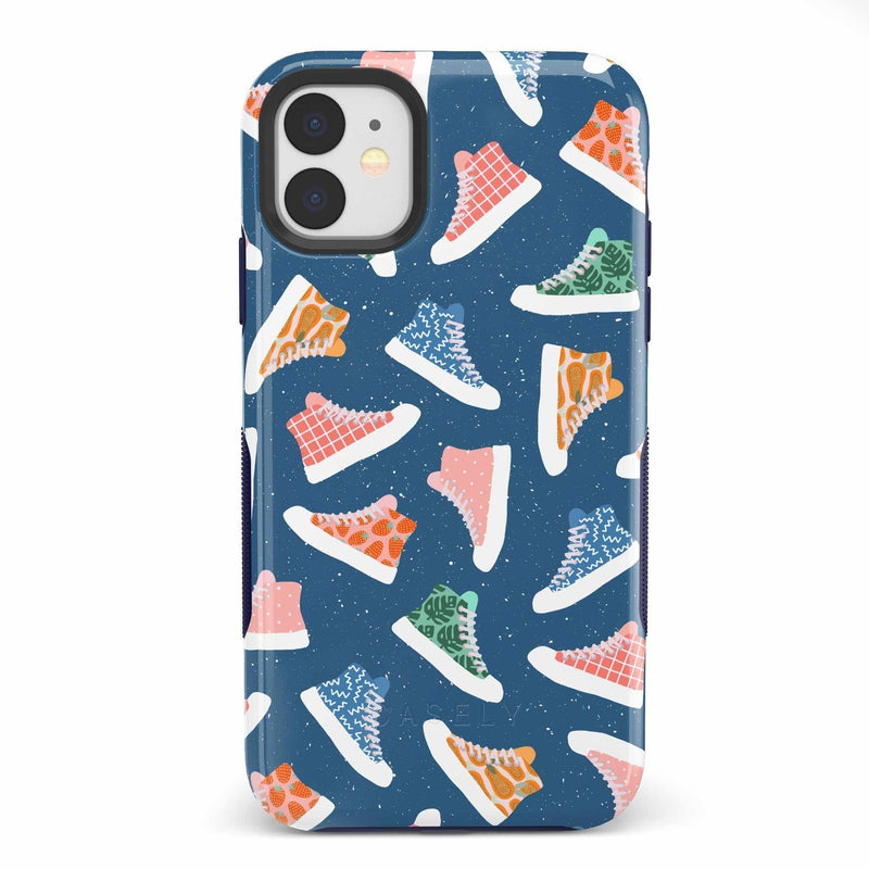 If The Shoe Fits | High Top Sneaker Case iPhone Case get.casely Bold iPhone 11