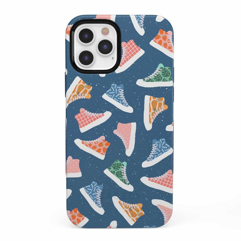 If The Shoe Fits | High Top Sneaker Case iPhone Case get.casely Bold iPhone 12 Pro