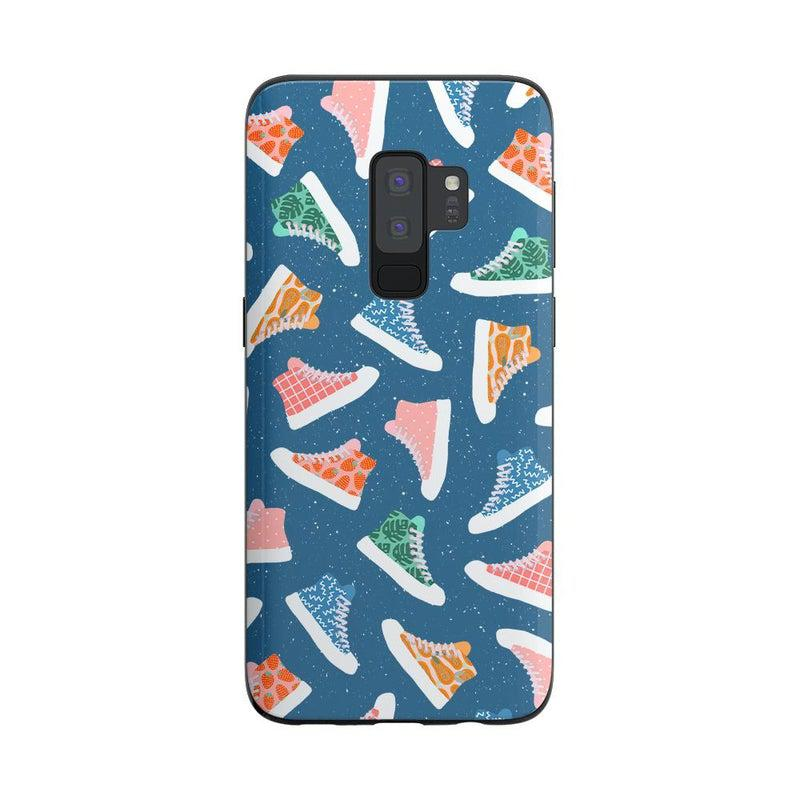 If The Shoe Fits | High Top Sneaker Case iPhone Case get.casely Classic Galaxy S9 Plus