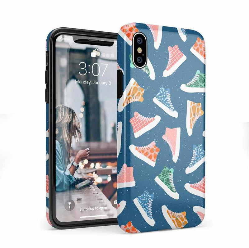 If The Shoe Fits | High Top Sneaker Case iPhone Case get.casely Classic iPhone X / XS