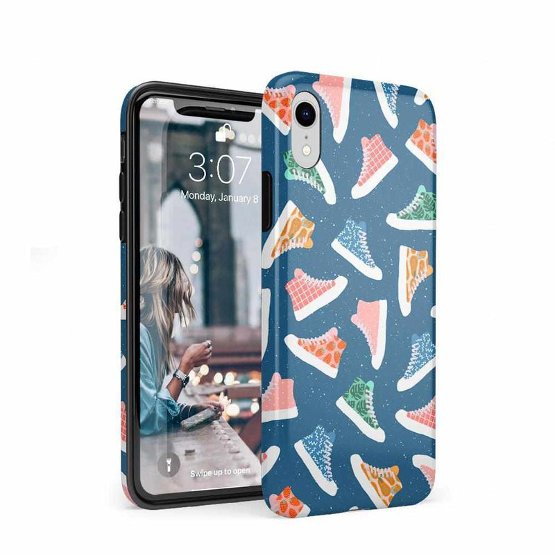 If The Shoe Fits | High Top Sneaker Case iPhone Case get.casely Classic iPhone XR