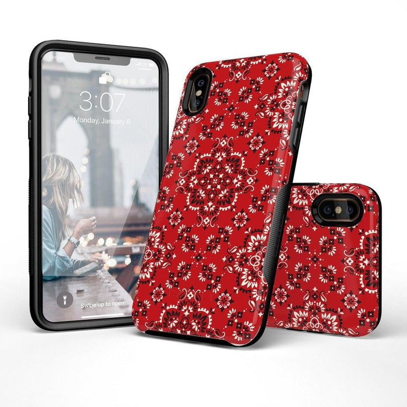 I'm with the Band | Red Bandana Print Case iPhone Case Get.Casely