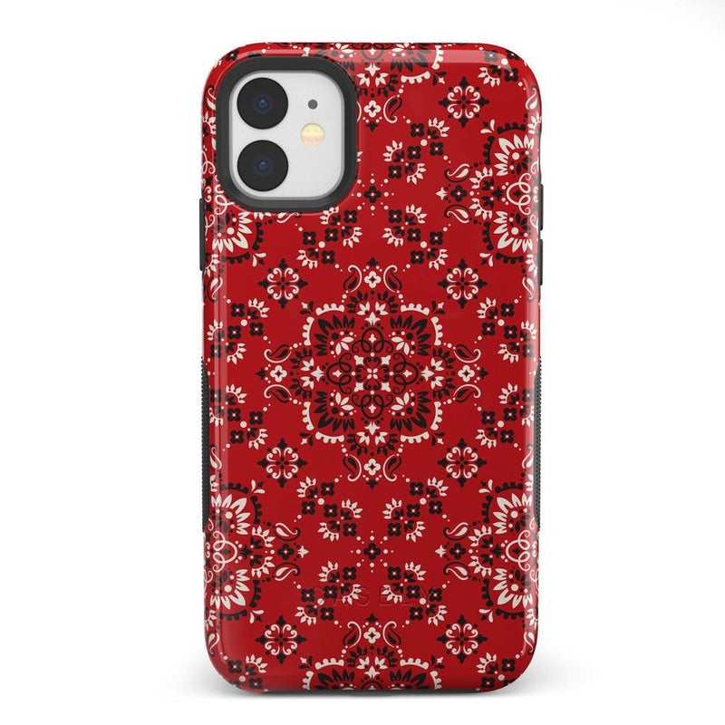 I'm with the Band | Red Bandana Print Case iPhone Case Get.Casely Bold iPhone 11