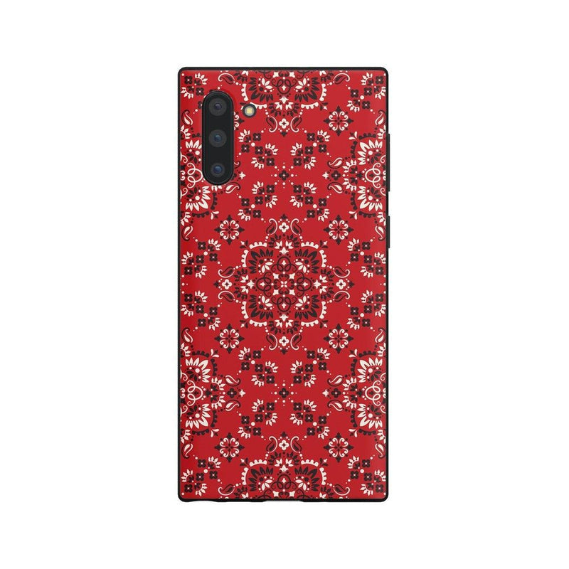 I'm with the Band | Red Bandana Print Case iPhone Case Get.Casely Classic Galaxy Note 10