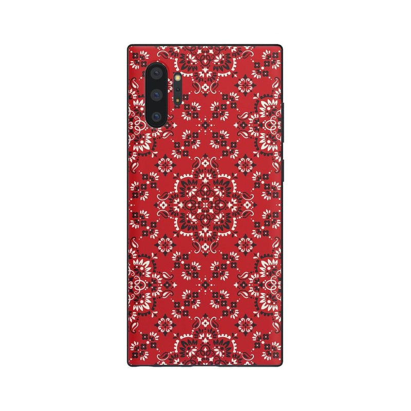 I'm with the Band | Red Bandana Print Case iPhone Case Get.Casely Classic Galaxy Note 10 Plus