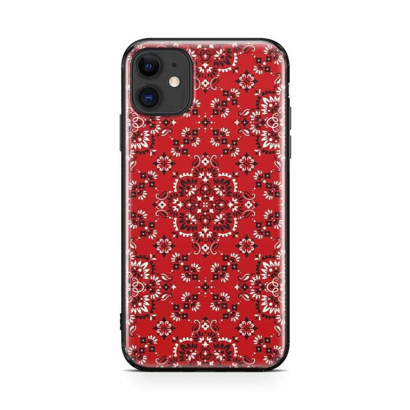 I'm with the Band | Red Bandana Print Case iPhone Case Get.Casely Classic iPhone 11