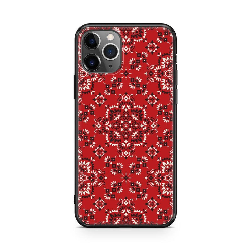 I'm with the Band | Red Bandana Print Case iPhone Case Get.Casely Classic iPhone 8