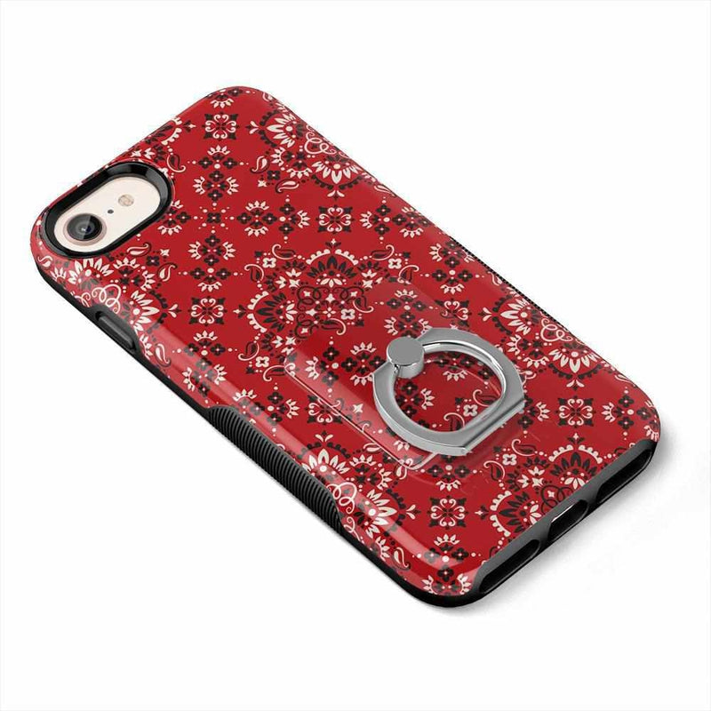 I'm with the Band | Red Bandana Print Phone Ring Phone Ring get.casely