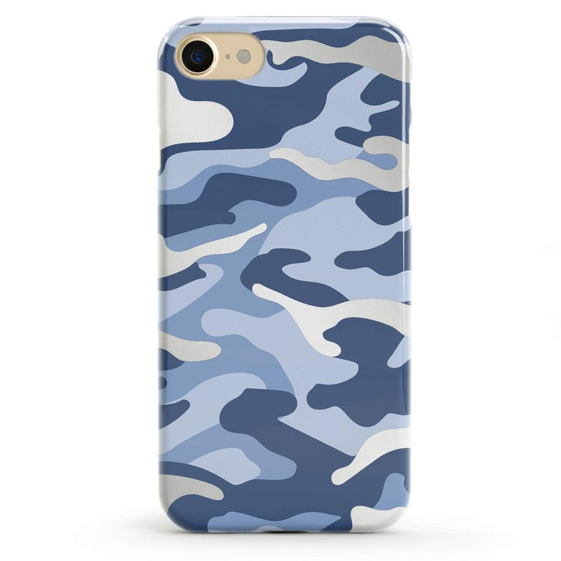 In Formation | Metallic Blue Camo Case iPhone Case CASELY Classic iPhone 6/6s