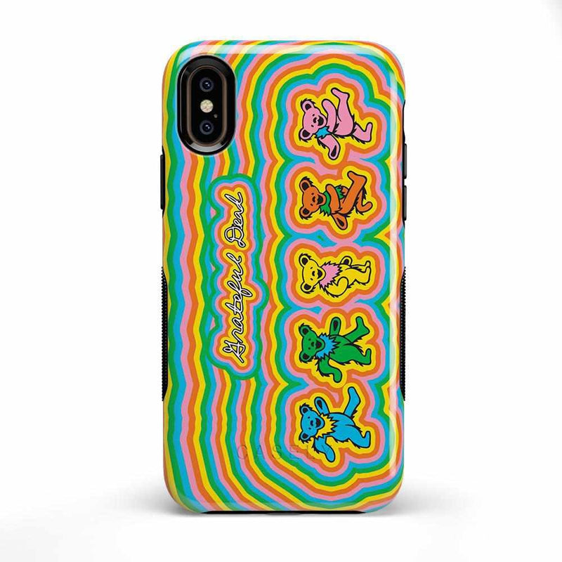 In the Groove | Grateful Dead Dancing Bears Case iPhone Case get.casely Bold iPhone XS Max