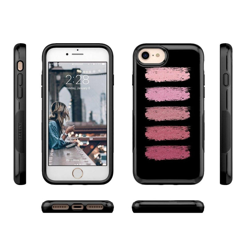 Insta Famous! Makeup Swatch Case iPhone Case get.casely