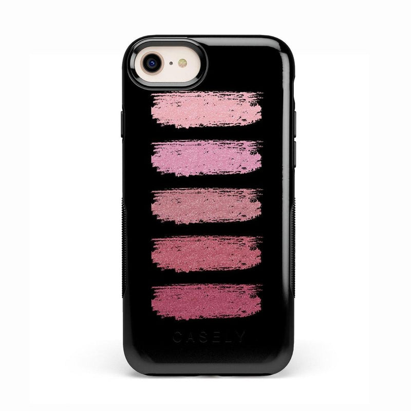 Insta Famous! Makeup Swatch Case iPhone Case get.casely Bold iPhone 8