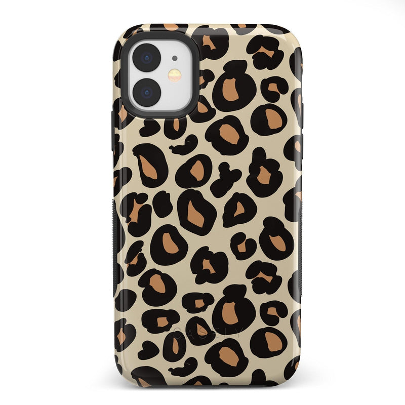 Into the Wild | Leopard Print Case iPhone Case Get.Casely Bold iPhone 11