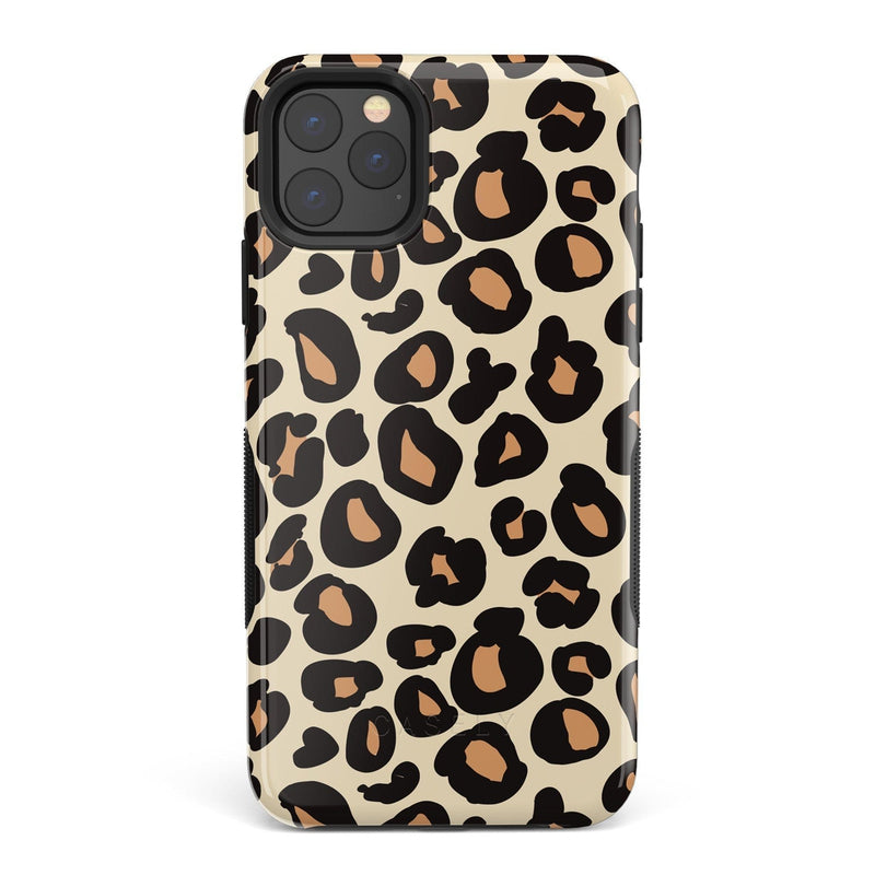 Into the Wild | Leopard Print Case iPhone Case Get.Casely Bold iPhone 11 Pro