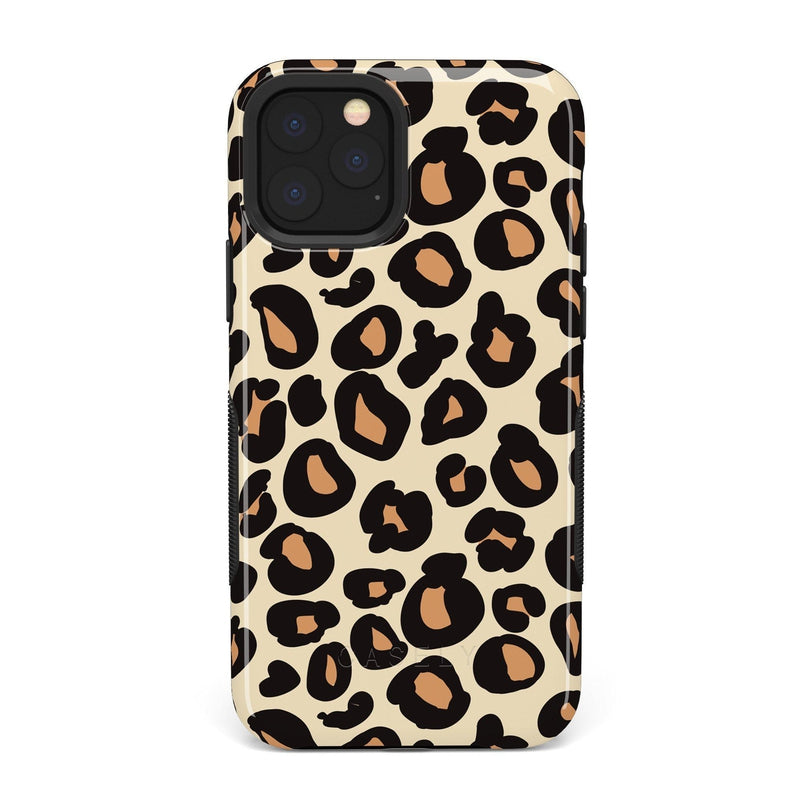 Into the Wild | Leopard Print Case iPhone Case Get.Casely Bold iPhone 11 Pro Max