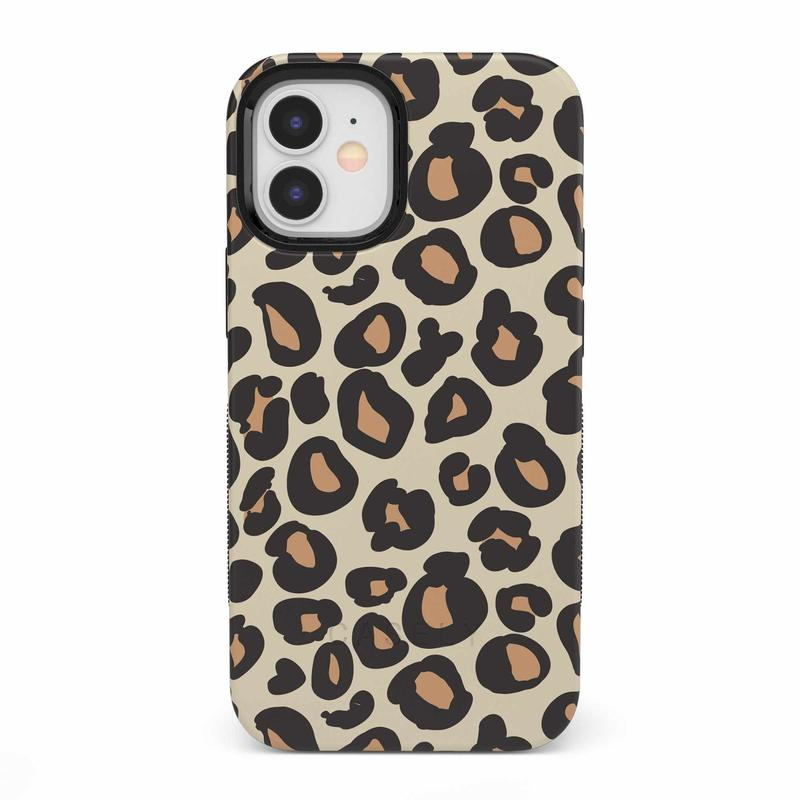 Into the Wild | Leopard Print Case iPhone Case get.casely Bold iPhone 12 Mini