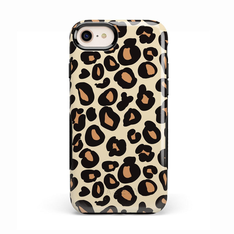 Into the Wild | Leopard Print Case iPhone Case Get.Casely Bold iPhone 8