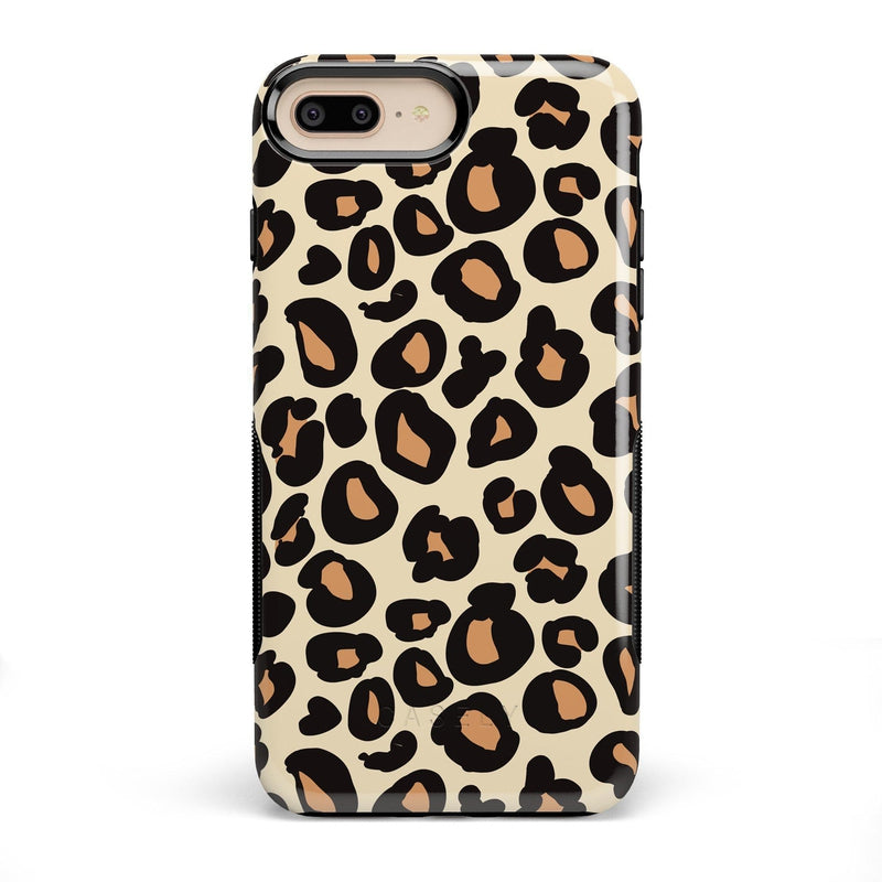 Into the Wild | Leopard Print Case iPhone Case Get.Casely Bold iPhone 8 Plus