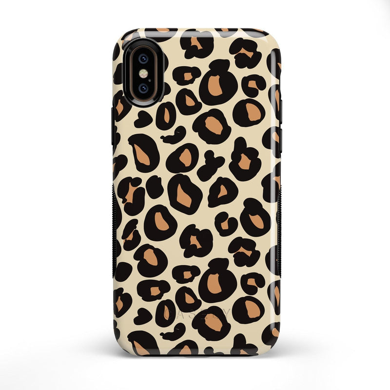Into the Wild | Leopard Print Case iPhone Case Get.Casely Bold iPhone X / XS