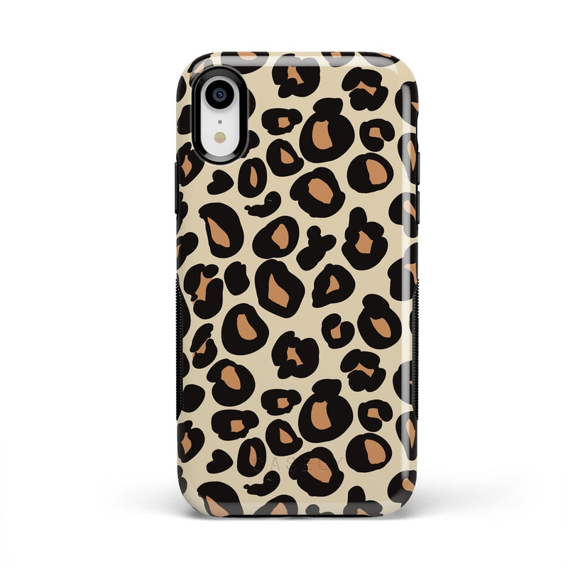 Into the Wild | Leopard Print Case iPhone Case Get.Casely Bold iPhone XR