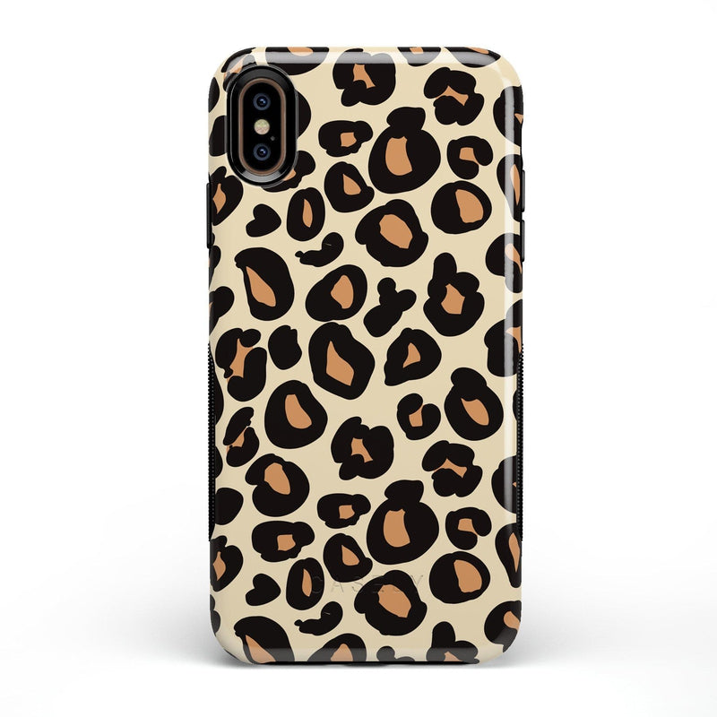 Into the Wild | Leopard Print Case iPhone Case Get.Casely Bold iPhone XS Max