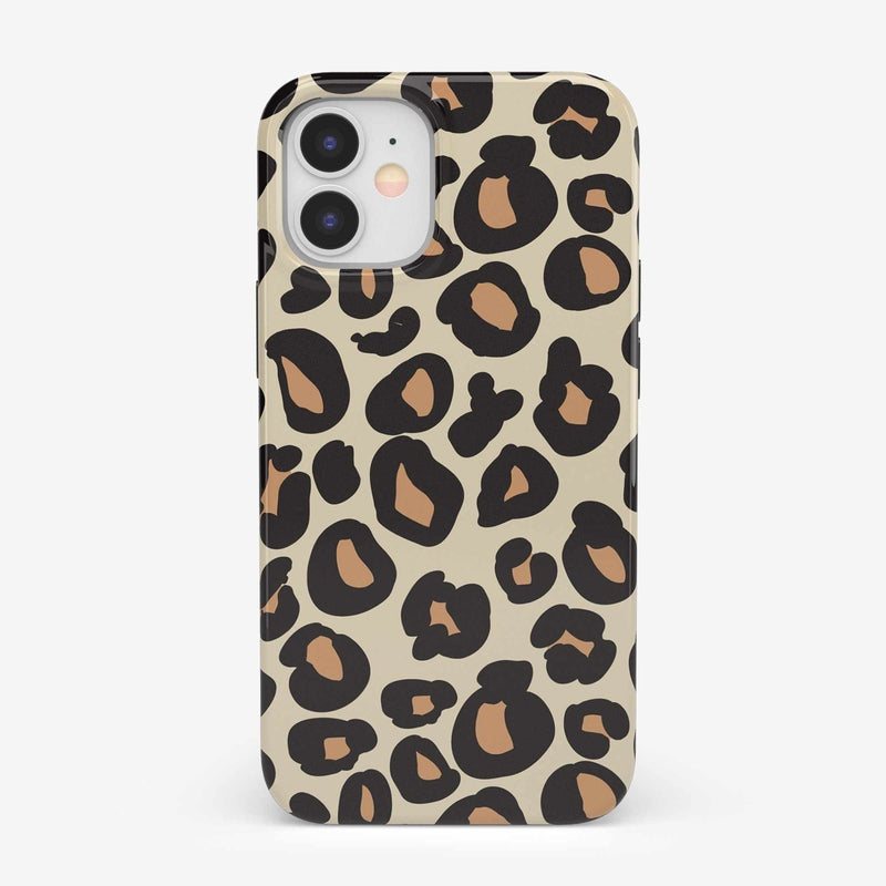 Into the Wild | Leopard Print Case iPhone Case get.casely Classic iPhone 12 Mini