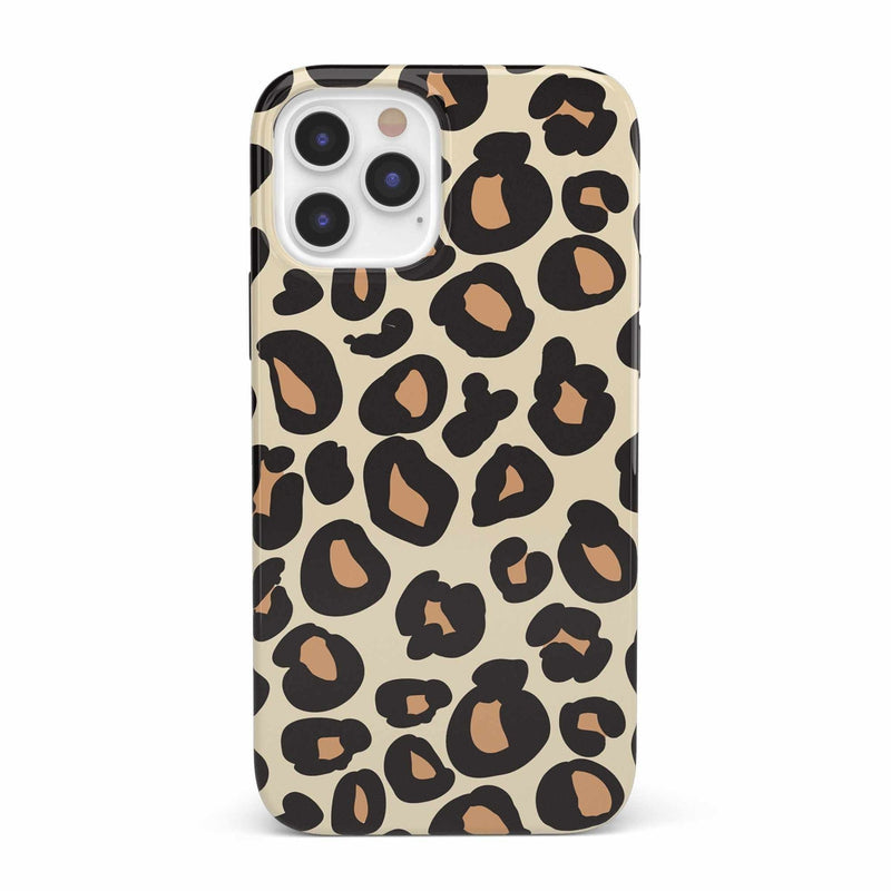 Into the Wild | Leopard Print Case iPhone Case get.casely Classic iPhone 12 Pro
