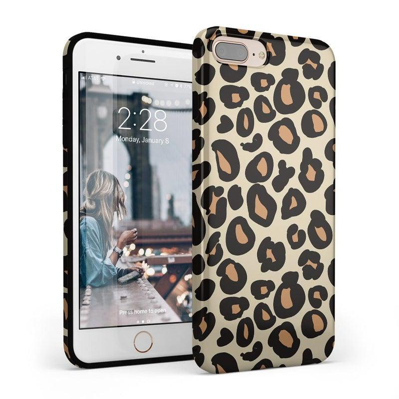 Into the Wild | Leopard Print Case iPhone Case Get.Casely Classic iPhone 8 Plus
