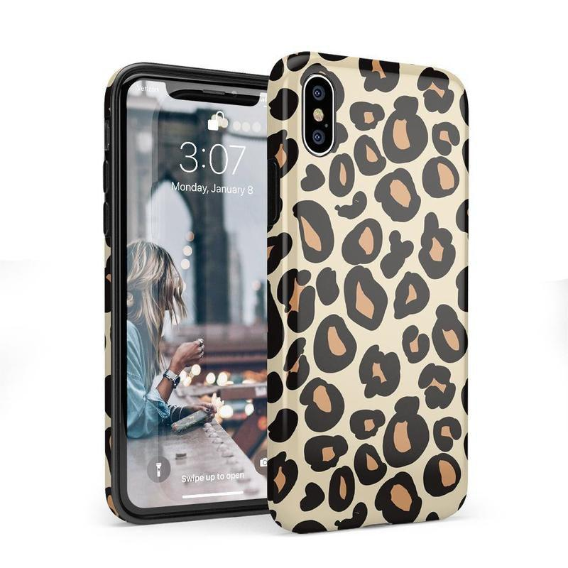 Into the Wild | Leopard Print Case iPhone Case Get.Casely Classic iPhone X / XS
