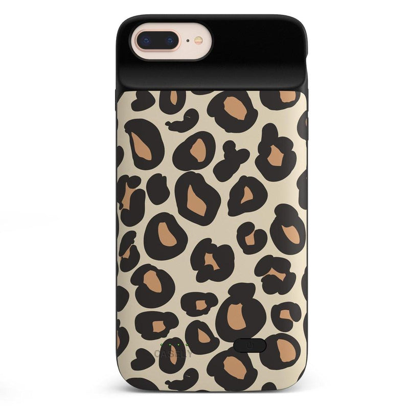 Into the Wild | Leopard Print Case iPhone Case get.casely Power 2.0 iPhone 8 Plus