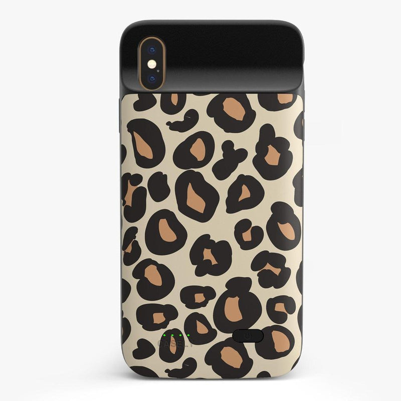 Into the Wild | Leopard Print Case iPhone Case get.casely Power 2.0 iPhone XS Max