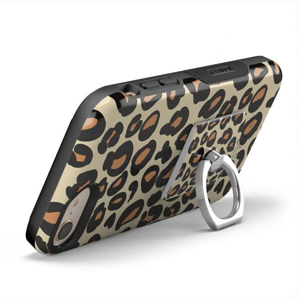 Into the Wild | Leopard Print Phone Ring Phone Ring get.casely