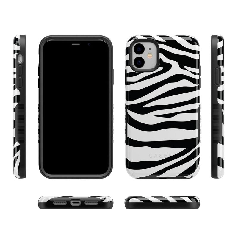 Into the Wild | Zebra Print Case iPhone Case Get.Casely