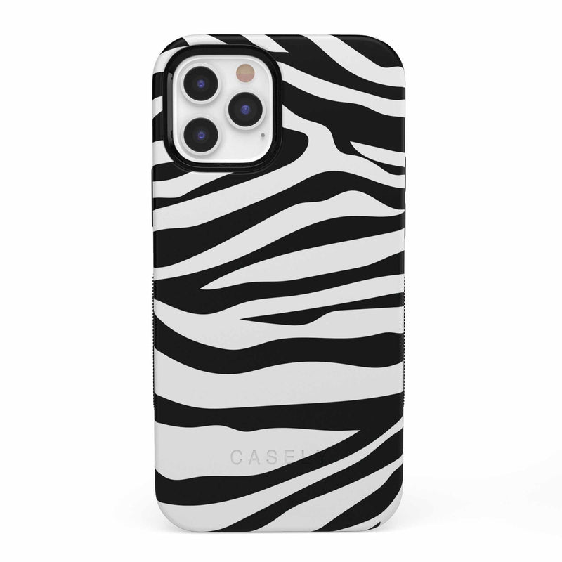 Into the Wild | Zebra Print Case iPhone Case get.casely Bold iPhone 12 Pro