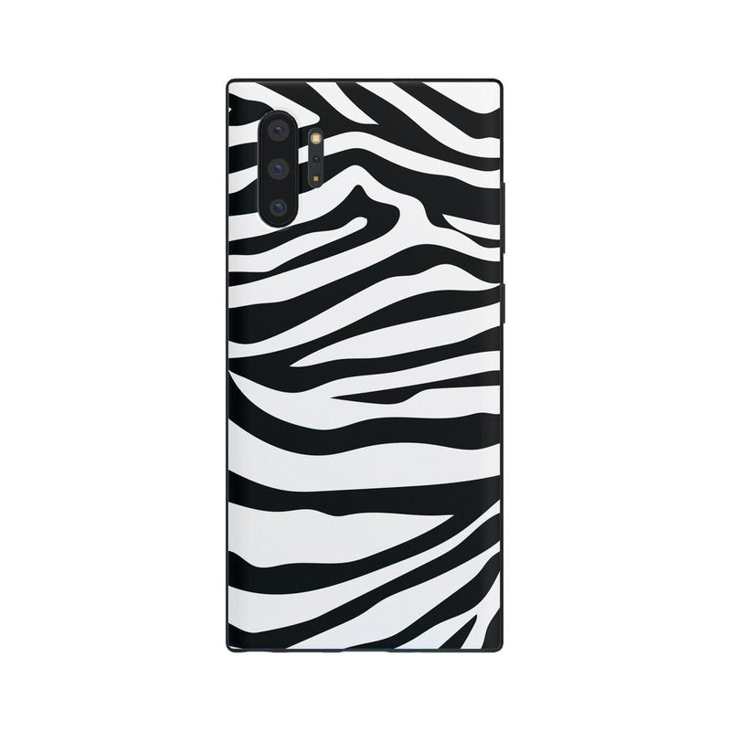 Into the Wild | Zebra Print Case iPhone Case Get.Casely Classic Galaxy Note 10 Plus