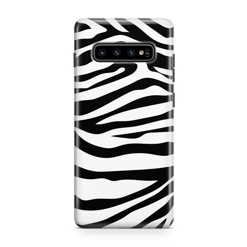 Into the Wild | Zebra Print Case iPhone Case Get.Casely Classic Galaxy S10 Plus