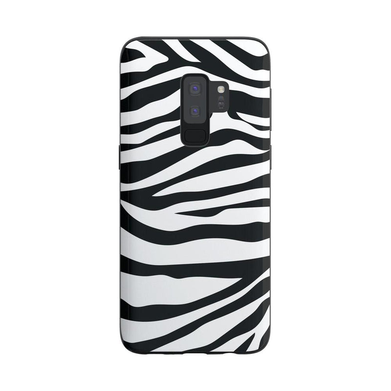 Into the Wild | Zebra Print Case iPhone Case Get.Casely Classic Galaxy S9 Plus