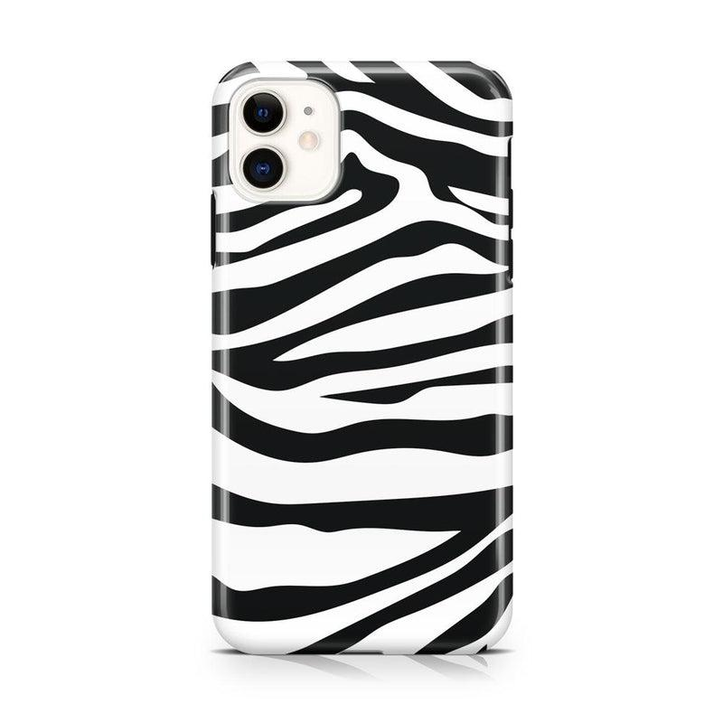 Into the Wild | Zebra Print Case iPhone Case Get.Casely Classic iPhone 11