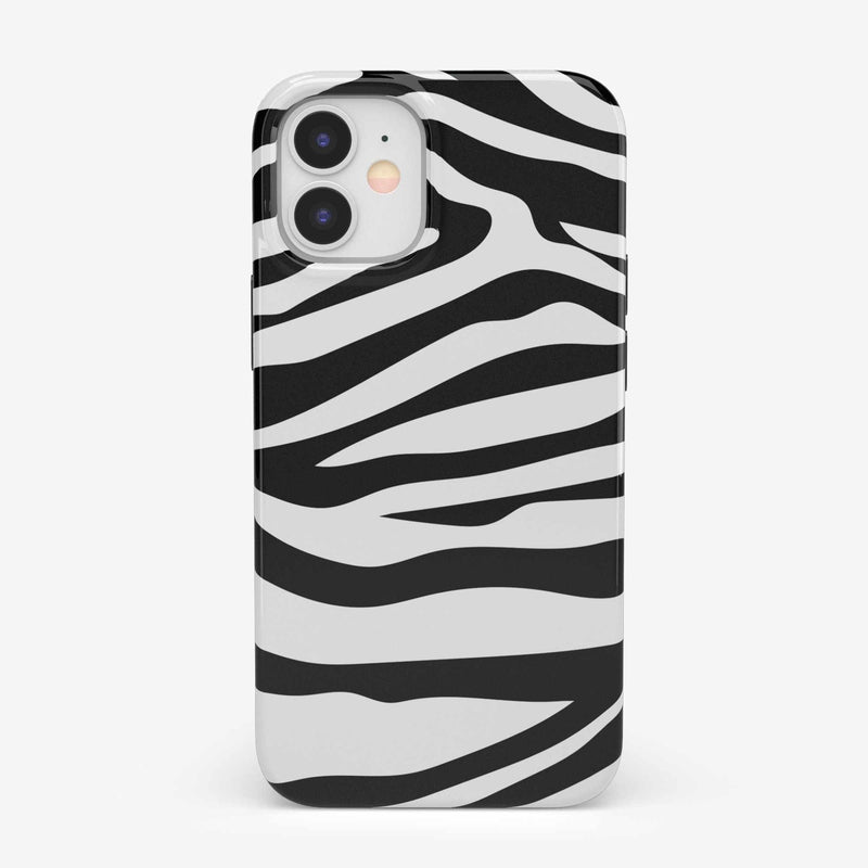 Into the Wild | Zebra Print Case iPhone Case get.casely Classic iPhone 12 Mini