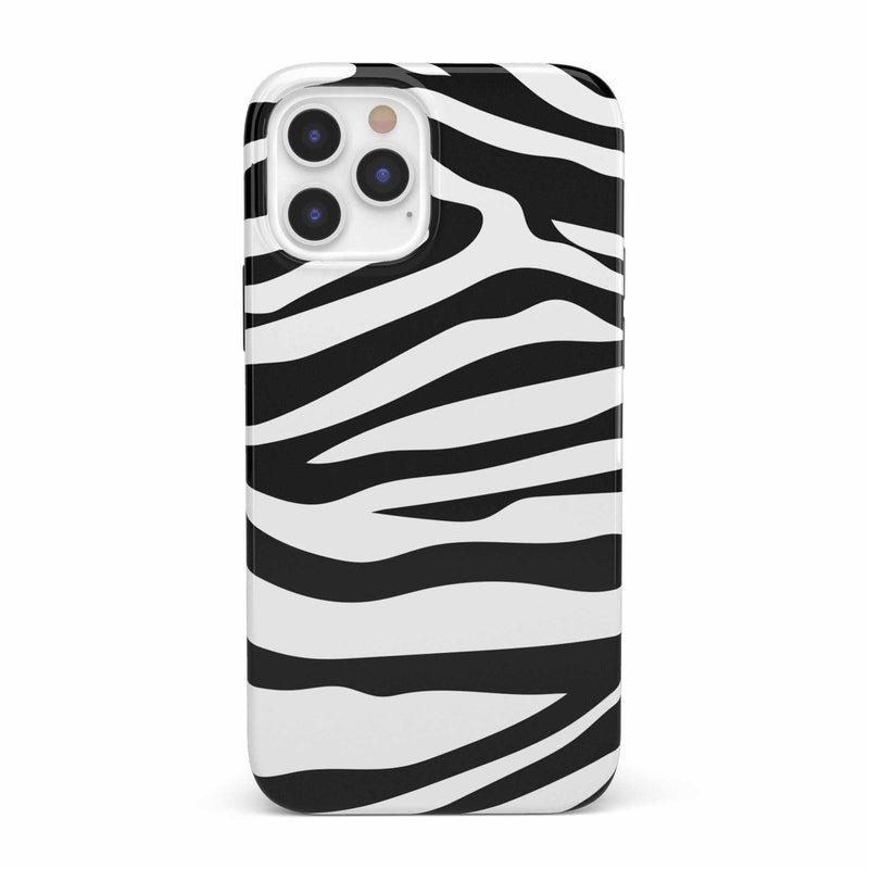 Into the Wild | Zebra Print Case iPhone Case get.casely Classic iPhone 12 Pro